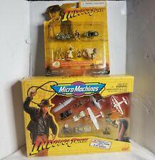 Indiana Jones Micro Machines Set Lot