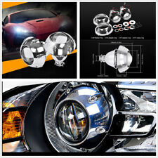 "2Pcs 3"" Bi Xenon HID Projector Lens With Shrouds H4 H7 Motorcycle Car Headlight"
