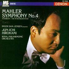 Mahler: Symphony No. 4/Webern: Im Sommerwind (CD, 1996, Denon) Hirokami/RPO NEW