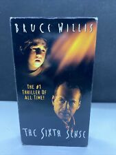 Horror Movies. The Sixth Sense (Vhs, 2000)