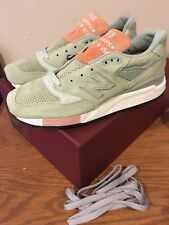 New Balance Concepts Tannery 998 TNY Green Size 9 Made In USA New