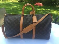 Auth LOUIS VUITTON Keepall Bandouliere 50 Monogram Boston Hand Bag