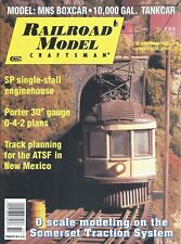 Railroad Model Craftsman Magazine February 2001 MNS Boxcar 10,000 Gal. Tankcar