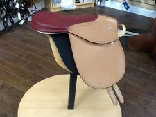 Grained Leather Exercise Saddle