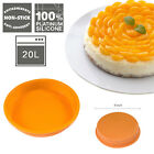 Round/Square Silicone Baking Mold Pan Cake Bread Brownie Muffin Chocolate Pizza