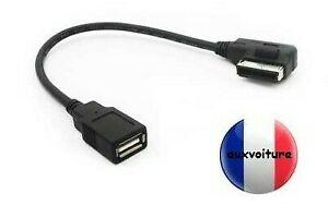 Câble AMI MMI MDI adaptateur usb 2g 3g pour audi skoda vw seat mercedes