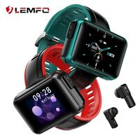 LEMFO Smart Watch with Wireless Earbud Bluetooth 5.0 Call Heart Rate Blood...