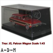 Ford XL Falcon Squire Wagon Red TRAX TR38D 1:43 Scale Diecast Model Car