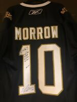 Brenden Morrow Autographed Official Reebok Dallas Stars Captains Jersey