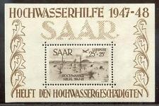 SAAR 1920-1959 bunt gemischte DUBLETTEN + BLOCK2(54225c