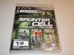 Splinter Cell Classic Trilogy HD - Playstation 3 PS3 Complete CIB