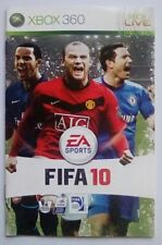 ***INSTRUCTIONS ONLY*** FIFA 10 2010 Manual Xbox 360 Live