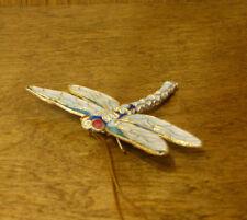 Victorian Treasures #A290-1 Aqua/blue DRAGONFLY, NEW from Retail Shop, MIB