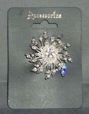 Accessorize Silver Coloured Costume Brooches & Pins