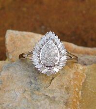 Diamond Split Ring (sz 7) Platinum/Silver TDiaWt .50 cts
