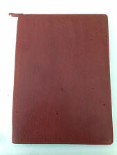 Filofax A4 Charleston Zip Folder red