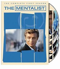 The Mentalist - The Complete First Season 1, One, 1st  (DVD, 2009) Brand New
