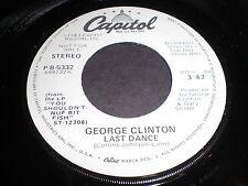 George Clinton: Last Dance / (Same) 45 - Funk