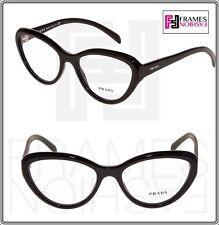 Diário De Prada PR25RV preto Cat Eye Óculos Armação ótica Rx 54 Mm 25R  Feminino 6c43c20875