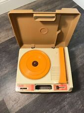 Vintage 1978 Fisher Price Portable Record Player Turntable #825
