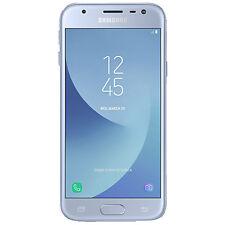 SAMSUNG Galaxy J3 (2017) Duos, Smartphone, 16 GB, 5 Zoll, Blue, Dual SIM