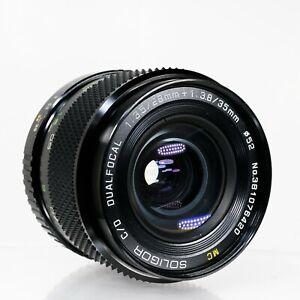 Soligor C/D Dualfocal MC 28mm f/3.5 + 35mm f/3.8 | Pentax K | Very Good