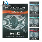 Maxcatch Fly Fishing Tapered Leader with Loop 6 Pack: 7.5ft/9ft/12ft/15ft, 0X-6X