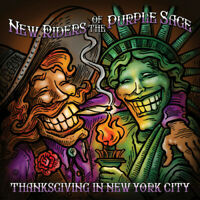 New Riders of the Pu - Thanksgiving In New York City (live) [New CD]