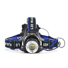 LED 6000LM XM-L T6 Headlight Zoomable Flashlight Headlamp Head Light Lamp Pro