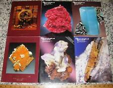 Vol 21 Miner 00004000 Alogical Record 1990 All 6 Issues Complete Minerals Crystals Mining