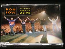 BON JOVI Wanted Dead Or Alive Live 2001 German 4-track CD single