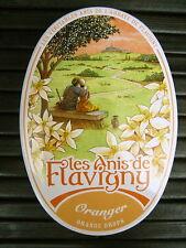 3 LES ANIS DE FLAVIGNY ORANGER ORANGE BLOSSOM DROPS CANDY FRENCH MINT PASTILLES