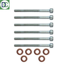 6 x Mercedes Sprinter CDI Diesel Injector Bolt & Washer Seal Kit German Febi OE