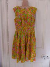 Boden Viscose Dresses Round Neck Floral