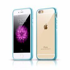PARACHOQUES Ultra delgada TPU Gel piel cubierta caso bolsa para iPhone 7 6s 6 Plus 5s
