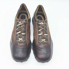 BORN 9M Sneaker Brown Leather Mens Lace Up Walking Shoe