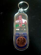San Francisco Lucky Penny Key Ring (#2311)