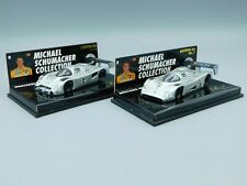 M. Schumacher Collection Nr.6+7 Mercedes-Benz 1990/91 MSC Minichamps *rare*1:64*