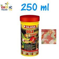 DAJANA GOLD 250ml MANGIME IN FIOCCHI X PESCI ROSSI ACQUA FREDDA SCAGLIE ACQUARIO