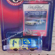 #3 Dale Earnhardt NASCAR 1/64 Diecast Car _ 1987 CHAMPIONSHIP WRANGLER AEROCOUPE