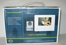 "7"" TFT LCD Color Wired Video Door Phone Doorbell Intercom System Night Vision"