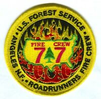 Angeles National Forest Roadrunners Fire Crew 77 Forest Patch California CA