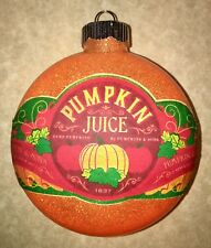 HARRY POTTER INSPIRED PUMPKIN JUICE CHRISTMAS TREE ORNAMENT HANDMADE DECORATION