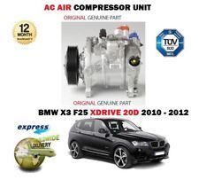 Per BMW X3 F25 xDrive 20D 1995cc 2010-12/2012 Nuovo AC Compressore d'aria unità