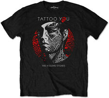 THE ROLLING STONES Tattoo You Circle T-SHIRT OFFICIAL MERCHANDISE