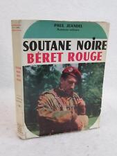Paul Jeandel SOUTANE NOIRE ET BERET ROUGE 1957 Editions De La Pensee Moderne