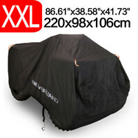 XXL Size ATV Cover w/ Storage Bag Waterproof UV Outdoor All Weather Protection