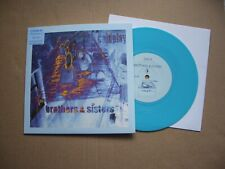 """COLDPLAY BROTHERS & SISTERS / ONLY SUPERSTITION  7"""" P/S BLUE VINYL  NEW/UNPLAYED"""