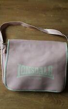 Pink Lonsdale London Sports bag