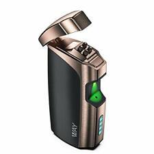 VVAY Briquet Électrique, Briquet Électronique USB Rechargeable Plasma Arc, Coupe